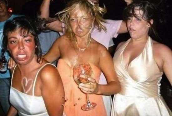 Смешные фото девушек на вечеринках