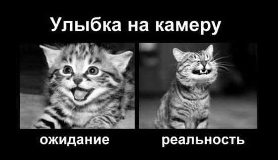 Шутки про улыбку