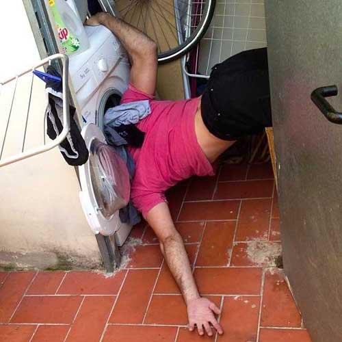 Смешные падения людей - фото