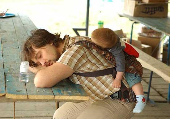 Прикольные картинки мужчин с детьми