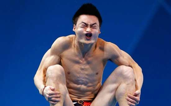 Фото приколы про прыгунов в воду