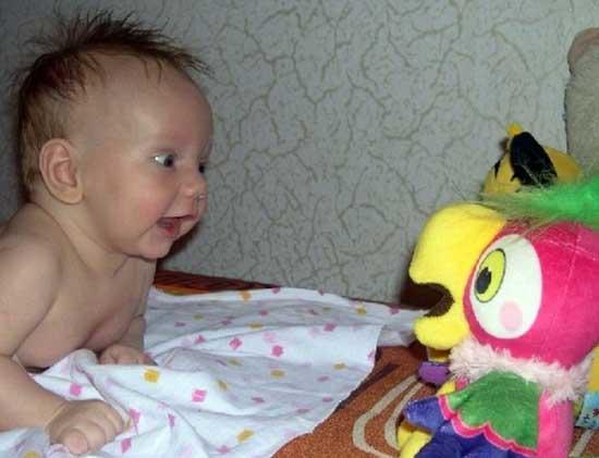 Очень смешные маленькие дети - фото