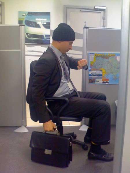 Пятница в офисе - фото приколы