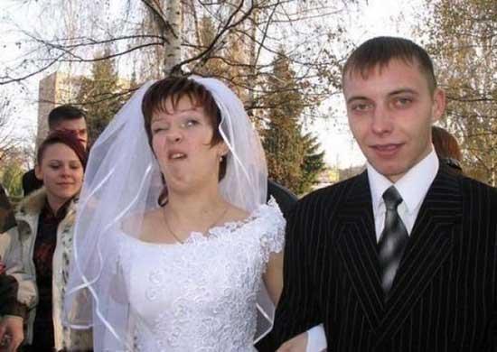 Ржачные свадебные фото