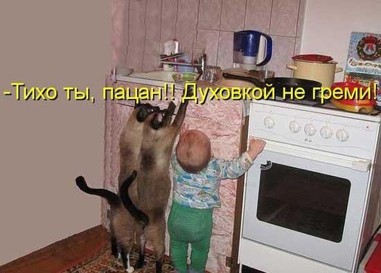 Прикольные картинки про детей и животных